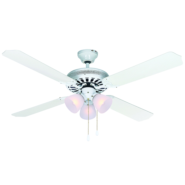 """CHATEAU IV WH52"""" Ceiling Fan, SERIE-120? CF52CH44WH"""