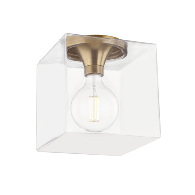 LUMINAIRE PLAFONNIER, COLLECTION GRACE, SERIE-HUDSON VALLEY, H284501SQL-AGB