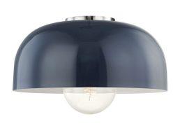 Luminaire Plafonnier AVERY H199501L-PN/NVY