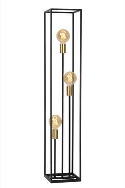 lampadaire industriel lucide ruben noir metal 00724 03 30