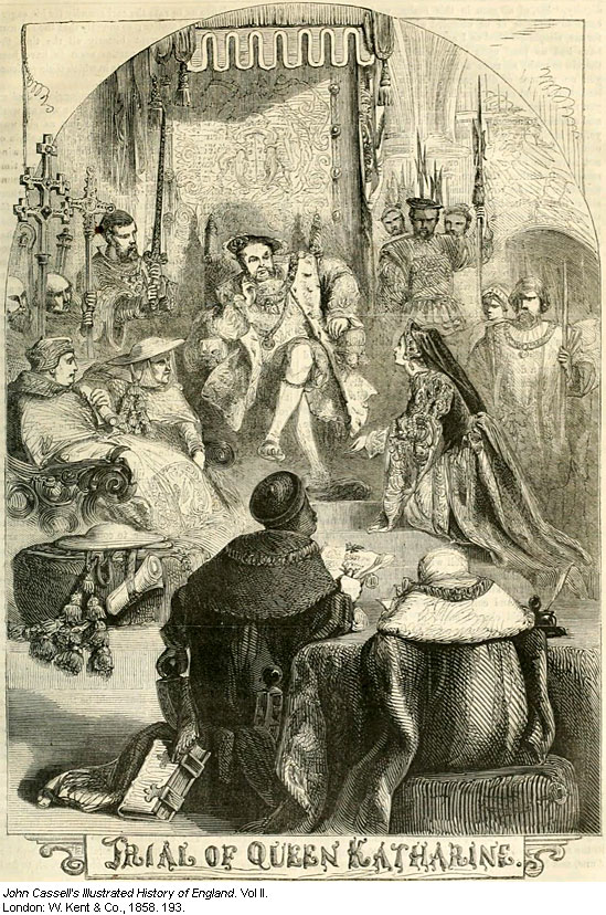 Image result for catherine of aragon trial