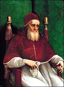 Raphael. Portrait of Pope Julius II