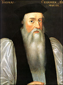 Portrait of Archbishop Thomas Cranmer