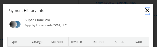 Where Can I View Salesforce AppExchange InvoicePayment History For - Salesforce invoicing app