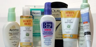 various acne treatment