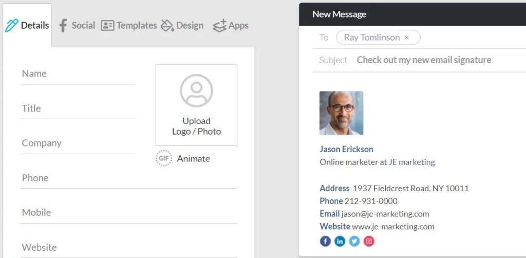 WiseStamp Email Signature, WiseStamp Email Signature creator, WiseStamp Email Signature generator, free Email Signature creator, Email Signature generator