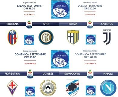 Calcio Live al Luna Blu 1 e 2 settembre | Anche il Parma :-)