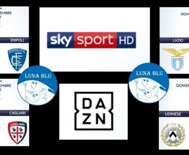 Ristorante Pizzeria Luna Blu Parma: il Calcio Serie A in diretta