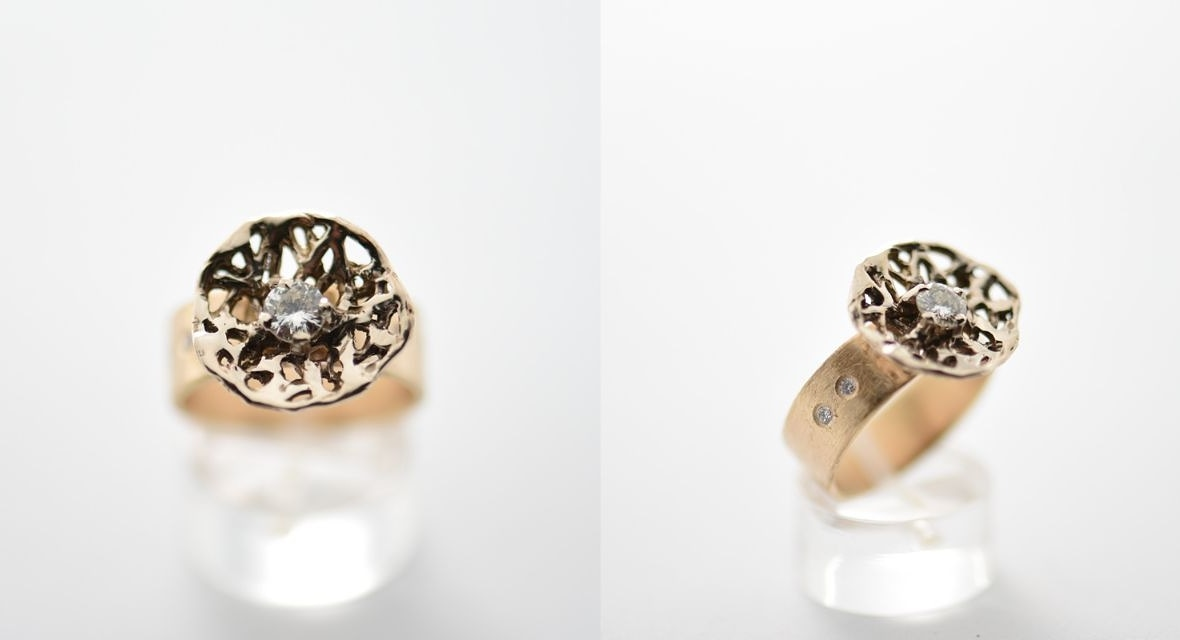 ring goud diamant