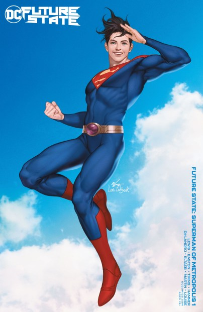 FUTURE STATE SUPERMAN OF METROPOLIS #1 (OF 2) CVR B INHYUK LEE CARD STOCK VAR