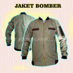 Jaket BOMBER Hasil Produksi Kain Taslan