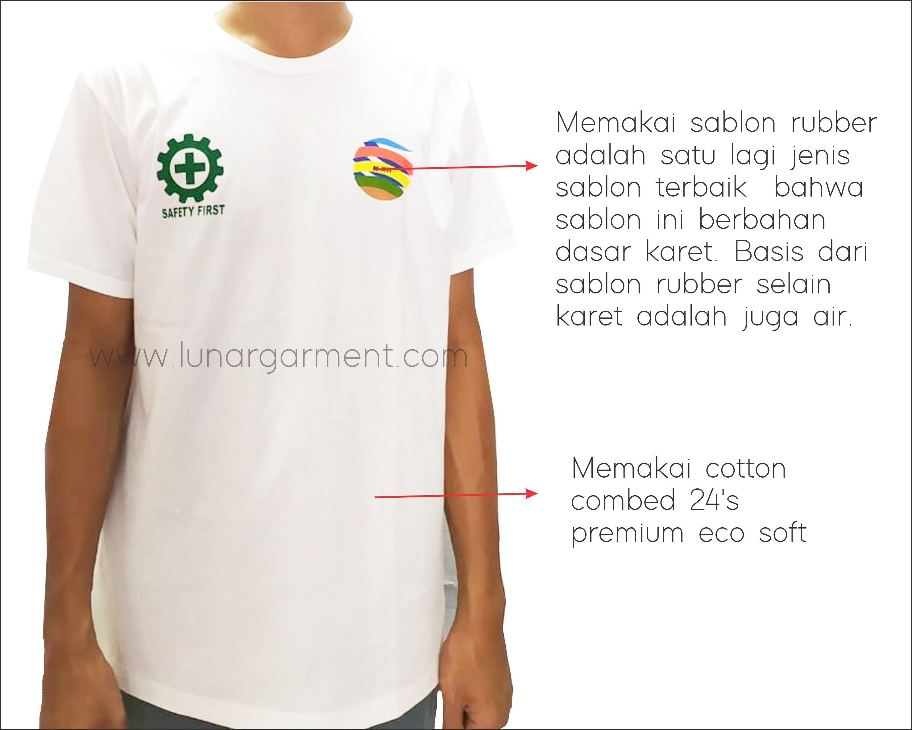 Menerima Pembuatan Kaos Oblong Custom