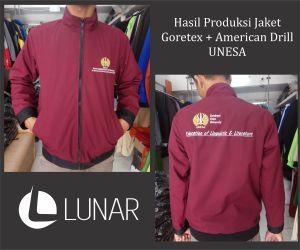 Hasil Produksi Jaket Goretex+American Drilll UNESA