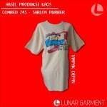 Hasil Produksi Kaos Cotton Combed 24s Lengan Pendek