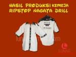 Hasil Produksi Kemeja Nagata Drill feat Ripstop