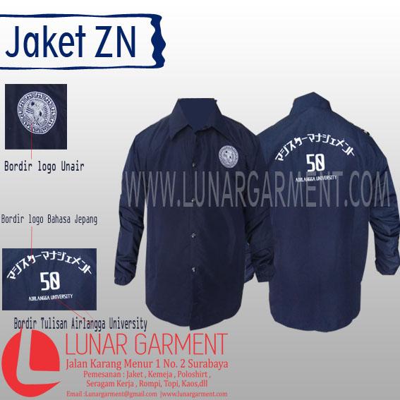 Hasil Produksi Jaket ZN Airlangga University