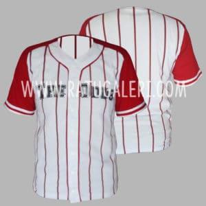 Hasil Produksi Kaos Baseball Combad