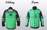 Hasil Produksi Dan Desain Jaket Taslan Bening IOKB