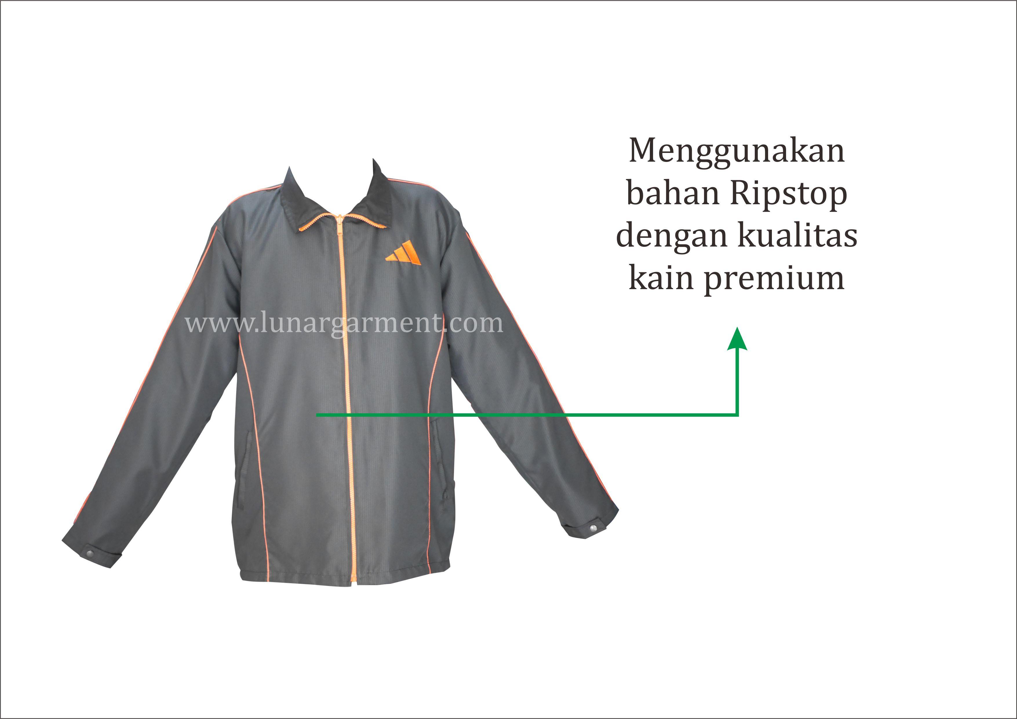 Hasil Konveksi Jaket Adidas Custom
