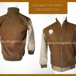 jaket unair kanvaas