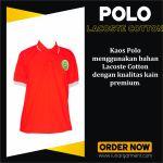 Hasil Konveksi Kaos Polo  Pengadilan Negeri