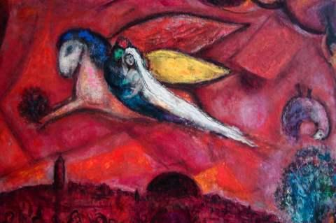 © M. Chagall, Cantico dei Cantici IV, 1958