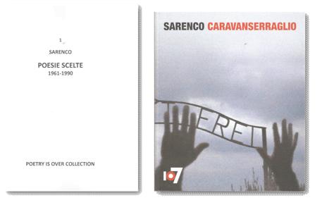 Il catalogo dell'ultima grande mostra di Sarenco, a Torino alla Fondazione 107, tra maggio e giugno 2016.