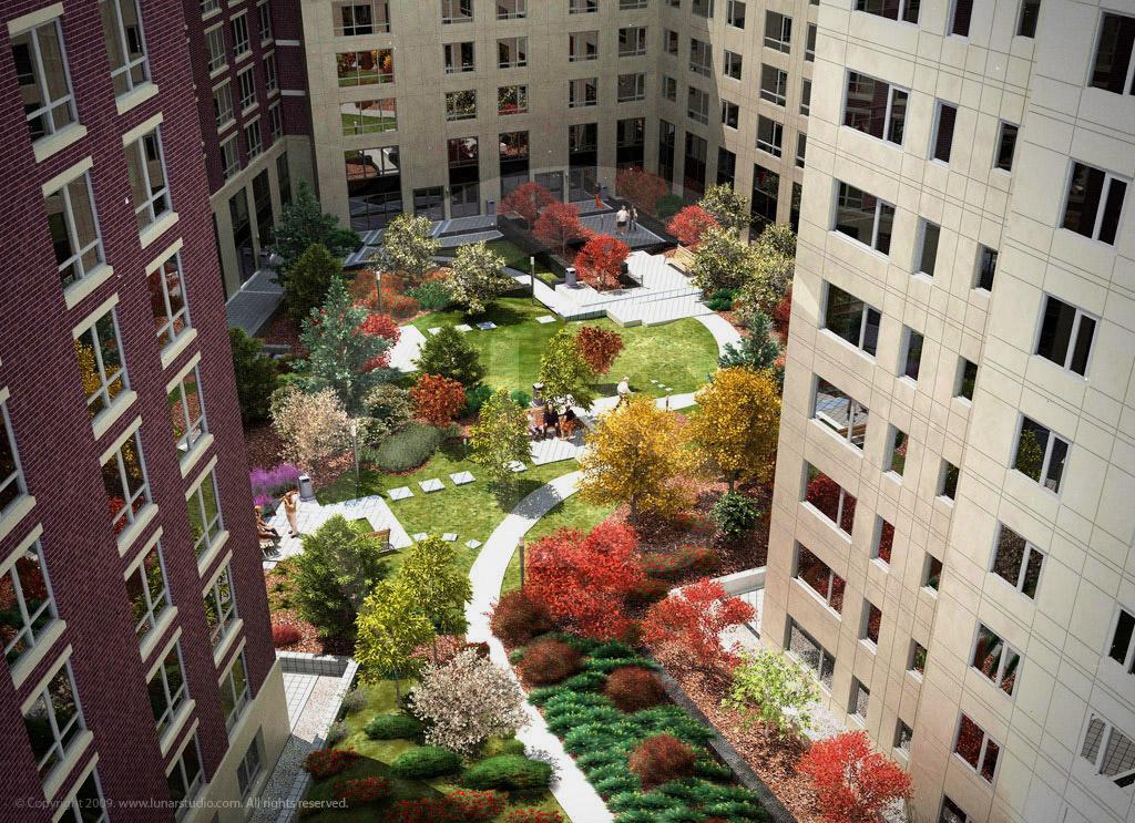 Apartment Building Renderings
