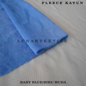 Fleece Cotton Baby Blue
