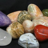 crystal healing  healing and massage stones