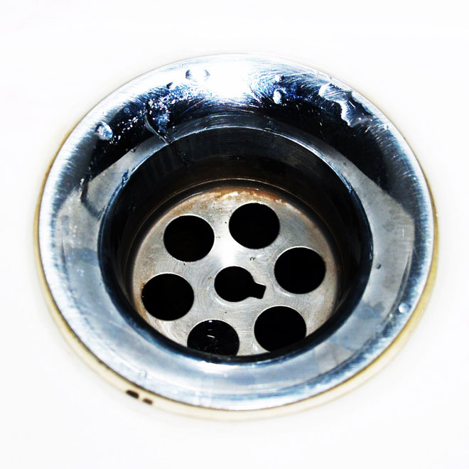 how to fix a clogged bathroom drain