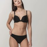 Miracle One 1808 push-up & 2808 brief black front
