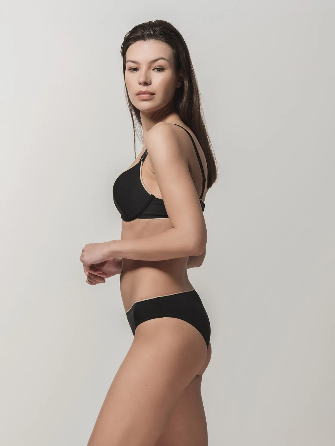Miracle One 1808 push-up & 2808 brief black side