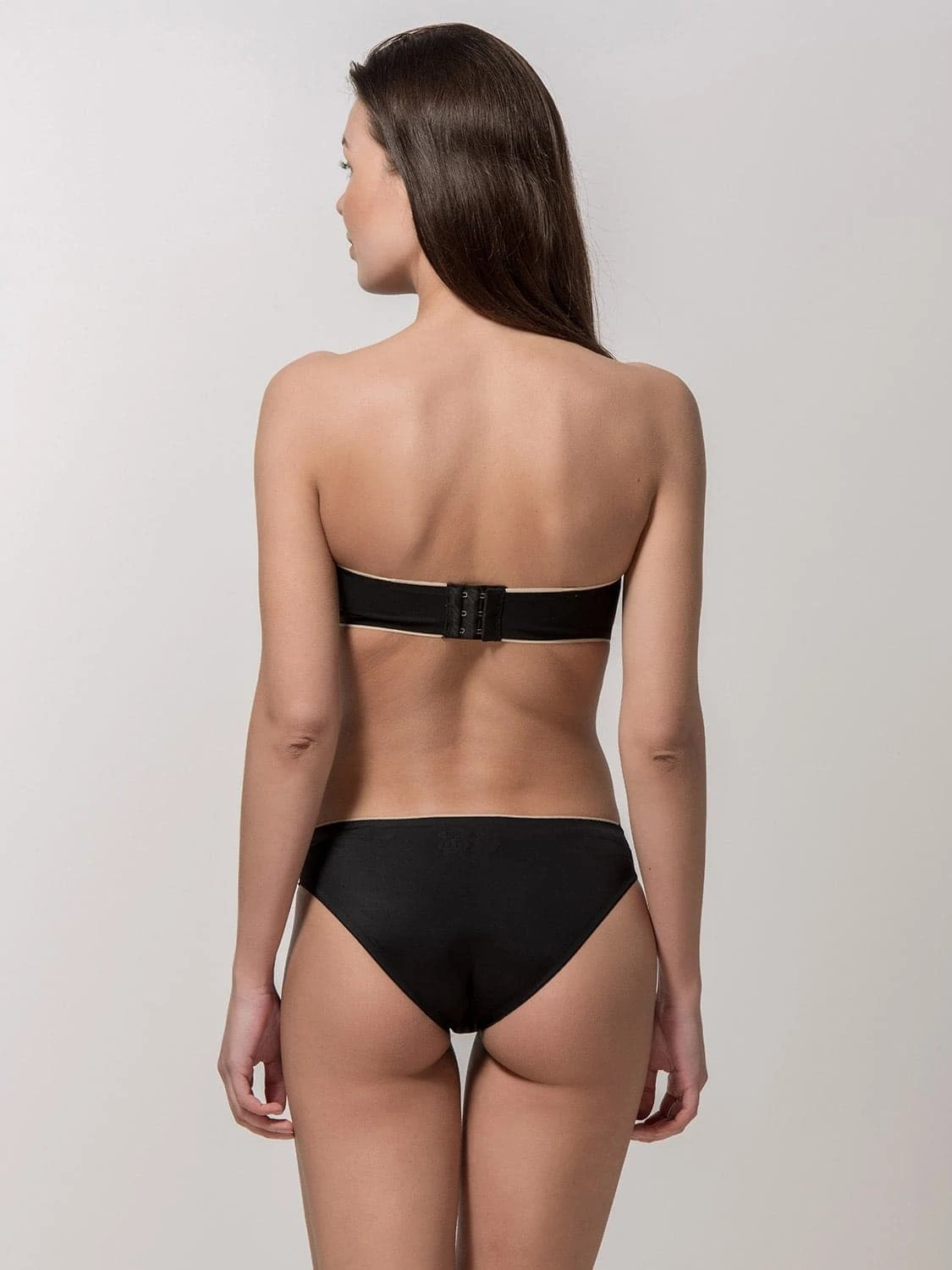 Miracle One 1810 strapless & 2808 brief black back
