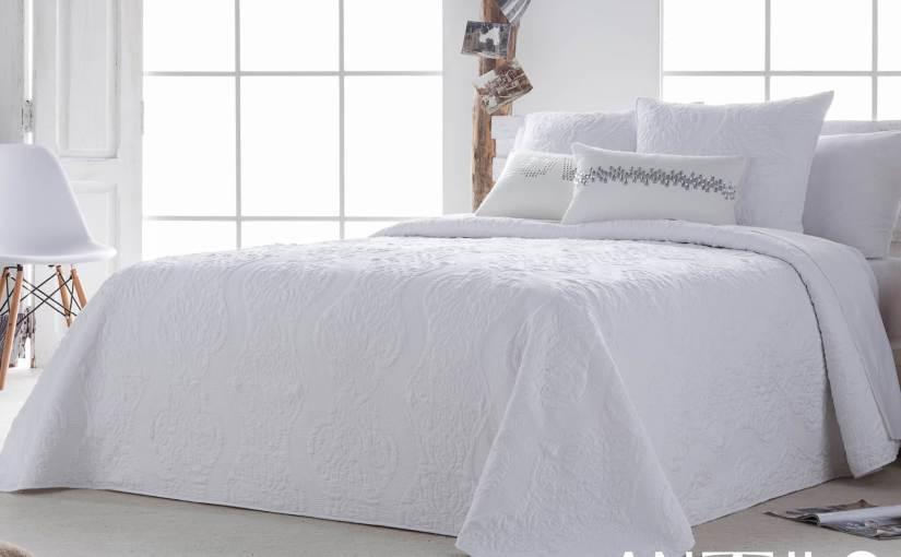 El blanco ideal para la cama en verano.
