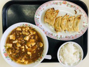 餃子の王将 マーボー麺ランチ