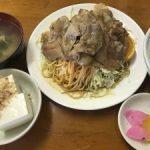 新潟 柏崎市の老舗食堂【花月食堂】1番人気の焼肉定食☆