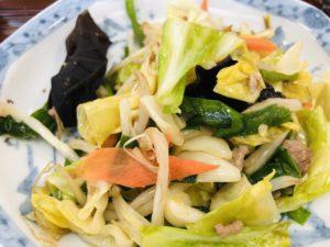 まつもと食堂 日替定食 野菜炒め