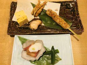 串ひろ 菜の鳥御膳メインたち
