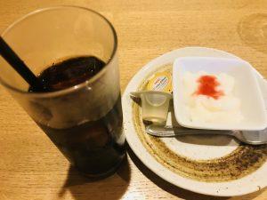 串ひろ 菜の鳥御膳デザートドリンク