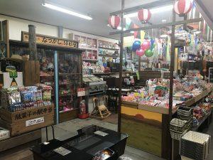 にいつ駄菓子の駅プラス昭和のなつかし屋 店内