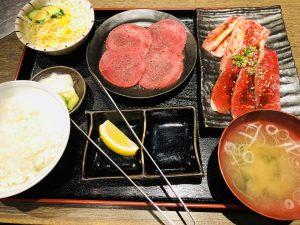 てんてん松崎店 タン焼肉定食