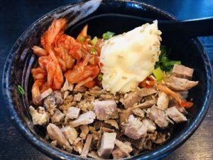 キムマヨチャーシュー丼