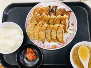 餃子定食トリプル