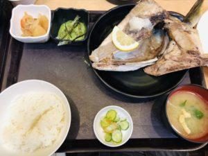 中央食堂 ぶりかま焼定食