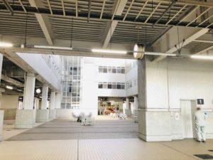 新潟中央卸売市場 1階の様子