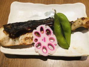 魚菜屋 上刺盛りとお魚定食 焼き魚