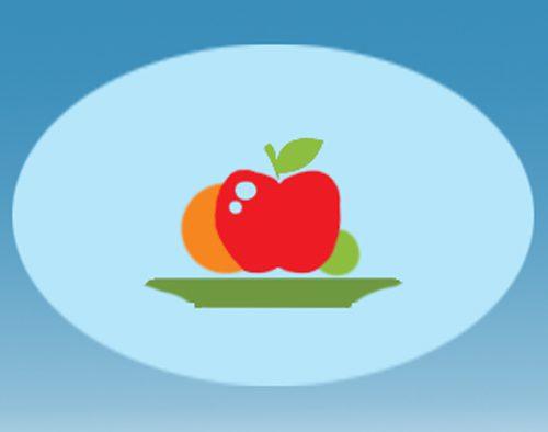 פירות על צלחת - אייקון המנות שלנו