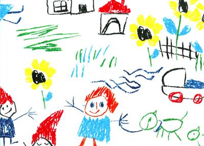 ציור של ילד