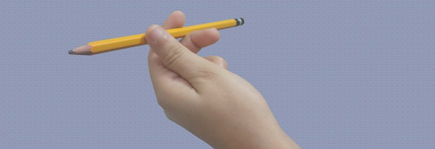 אחיזת עפרון מטוריקה עדינה
